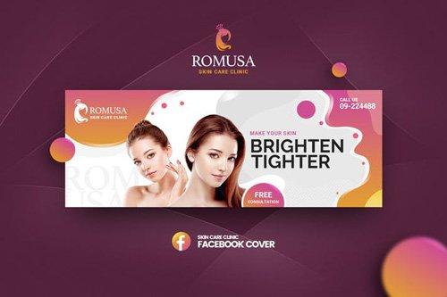 Romusa-Skin Care ClinicFacebook Cover Template