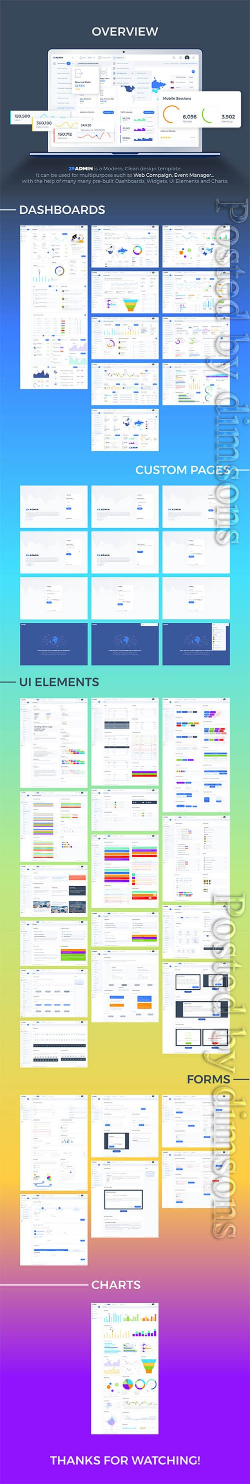 29Admin Dashboard UI Kit