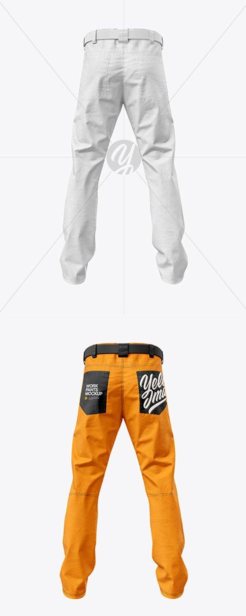 Work Pants Mockup 41798 TIF