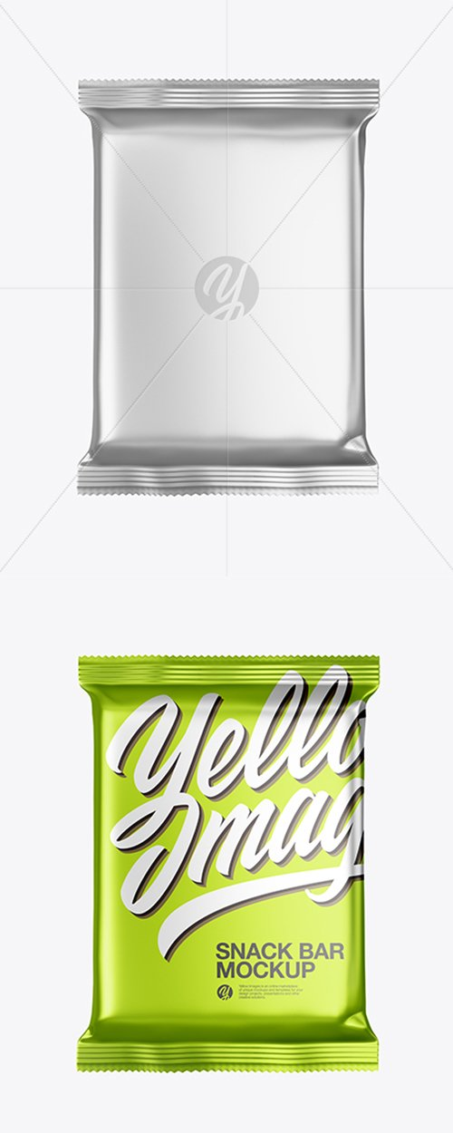 Metallic Snack Bar Mockup 42754 TIF