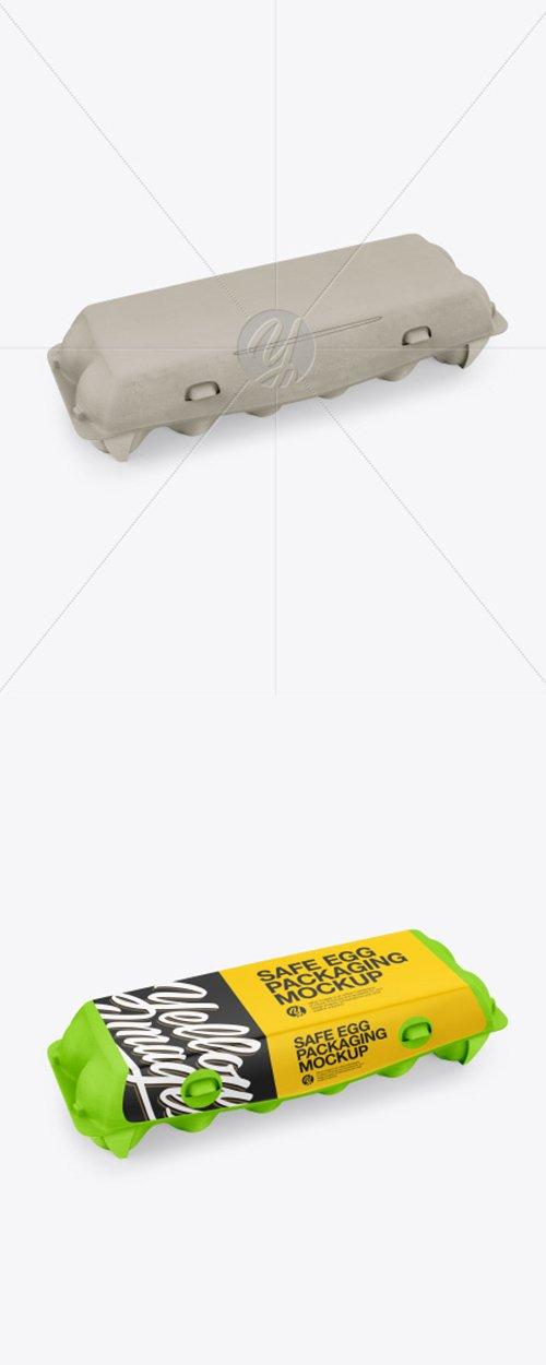 12 Egg Carton Pack Mockup 42747 TIF