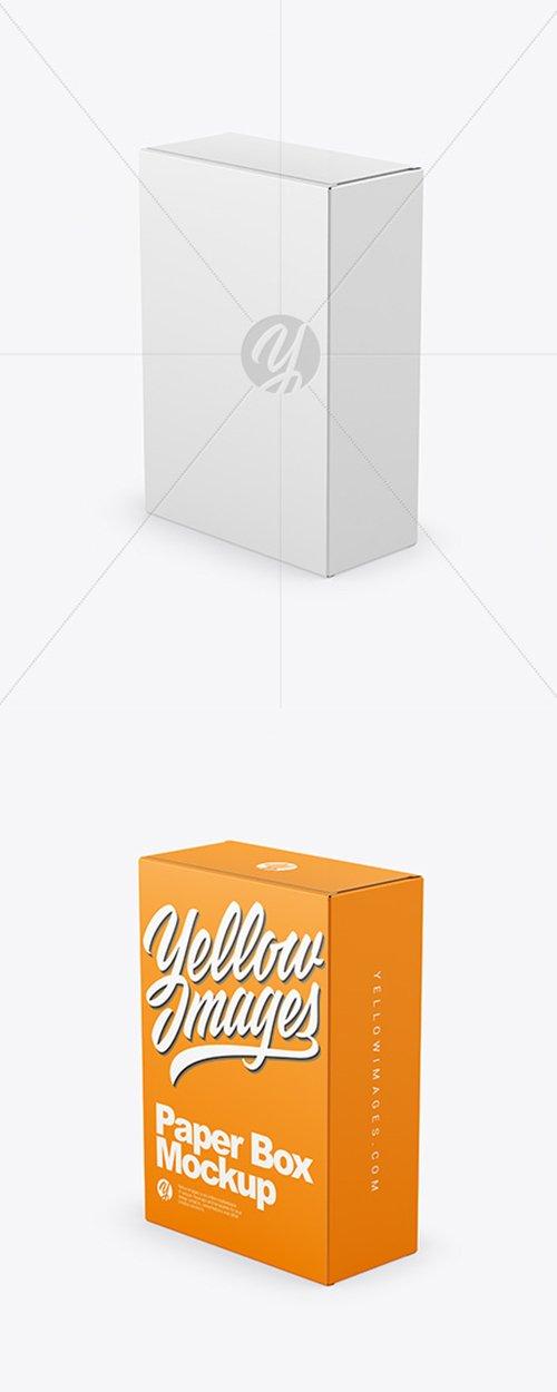 Paper Box Mockup 43184 TIF