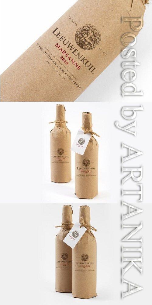 Craft Bottle Branding Mock Up