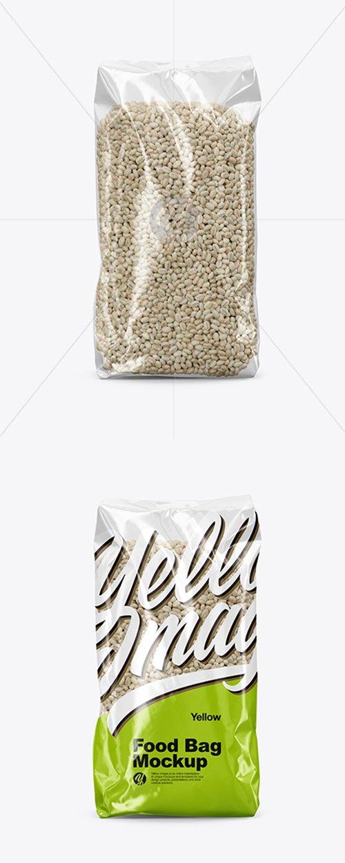 Food Bag with Pearl Barley Mockup 43156 TIF