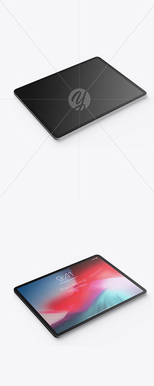 Apple iPad Pro 2018 12.9 Mockup 44125 TIF