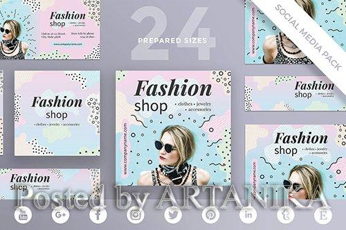 Fashion Shop Social Media Pack