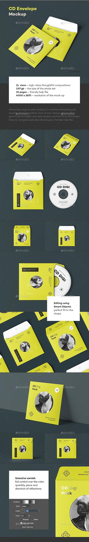 GR - CD Envelope Mock-up 23937333