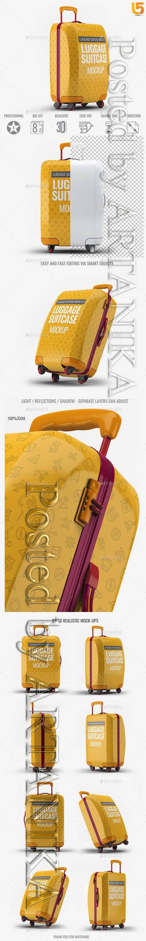 Luggage Suitcase Mock-up 21789981
