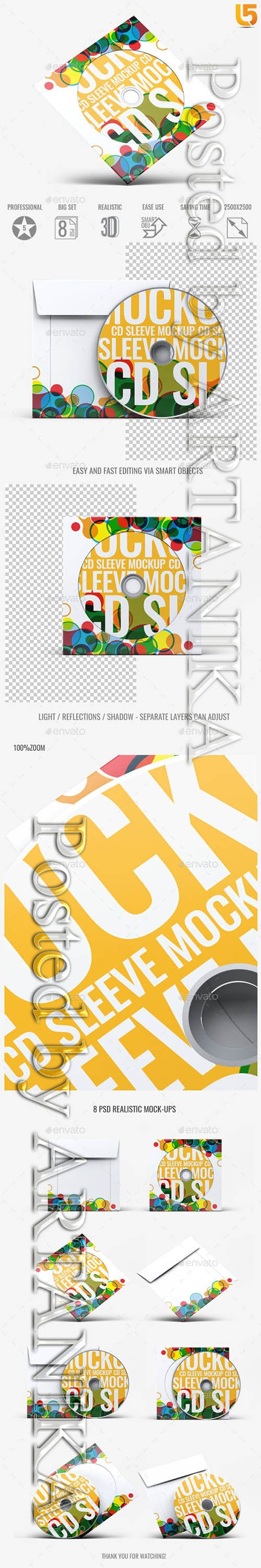 CD Sleeve Cover Mock-Up v01 21789451