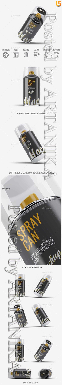 Spray Can Mock-Up v2 21789435