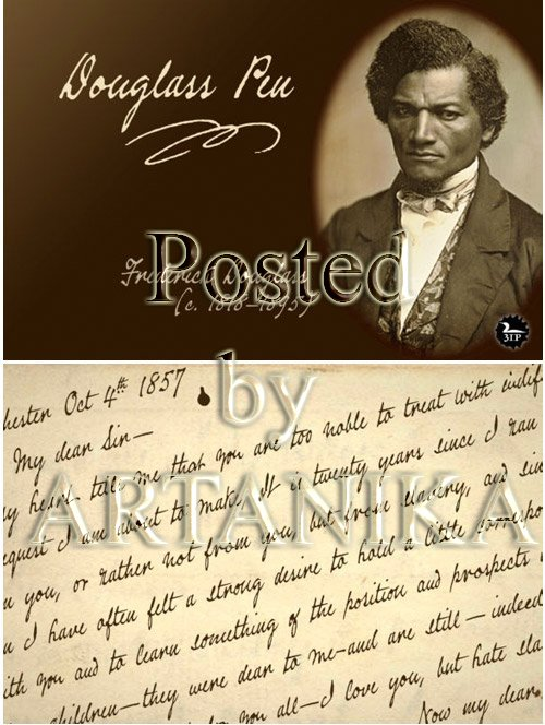Douglass Pen Font
