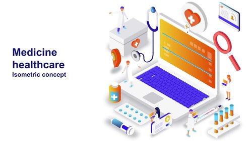 MA - Medicine Healthcare - Isometric Concept 208607