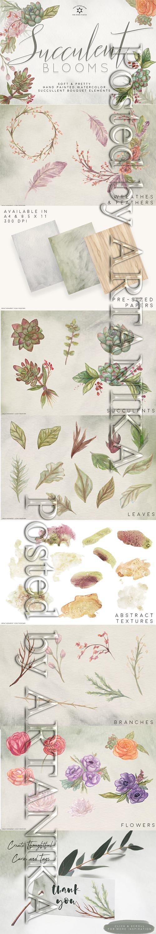 Succulent Bouquets Design Kit 2431142