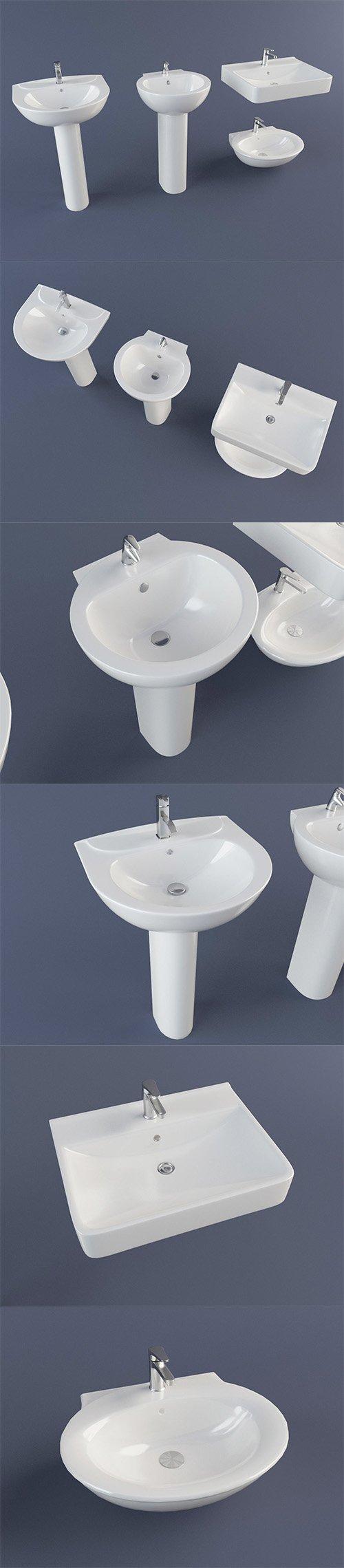 Sink Pack 3D model