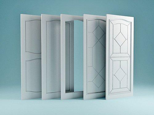Collection of Doors 3D model