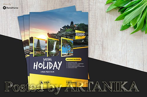 Holiday Travel Flyer vol.2