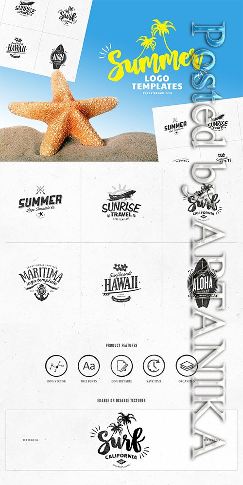 Summer Logo Templates