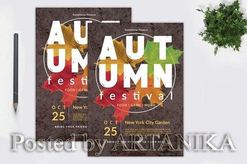 Autumn Festival Flyer vol. 01