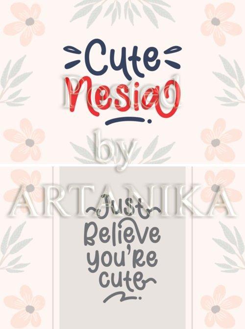 Cute Nesia Font