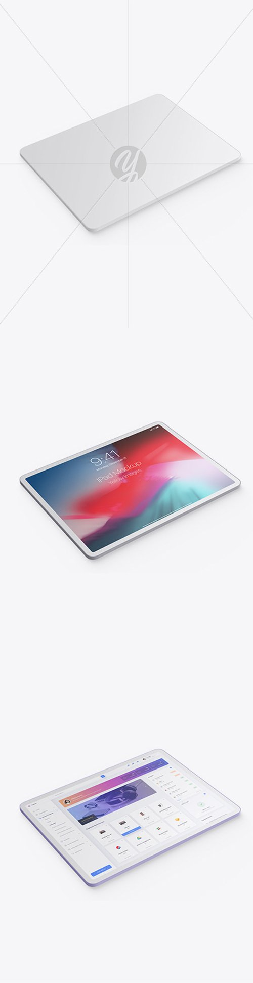 Clay Apple iPad Pro 2018 12.9 Mockup 44126 TIF
