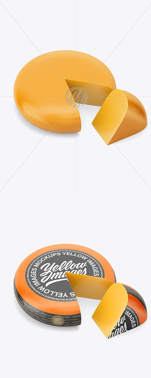 Cheese Wheel Mockup 43151 TIF