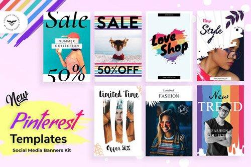Pinterest Fashion Post Template