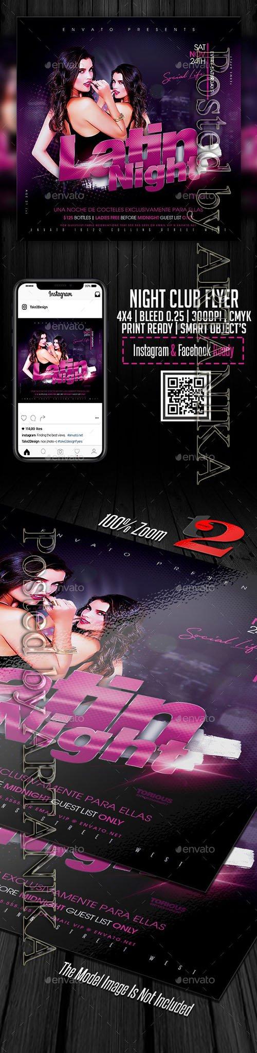 Night Club Flyer Template 23515134