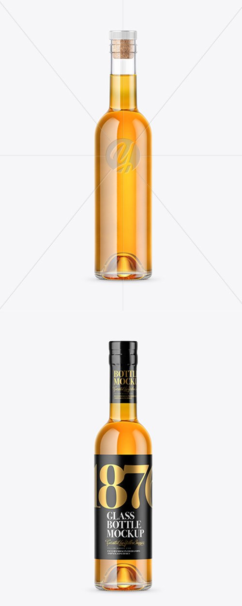 Whiskey Bottle Mockup 42809 TIF