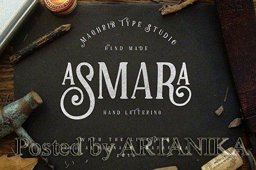 Asmara Type Font