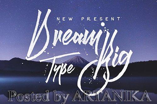 Dream Big Font