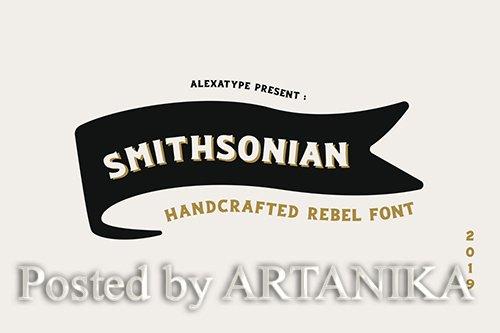 Smithsonian Rebel Font