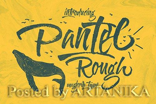 Pantel Rough Font