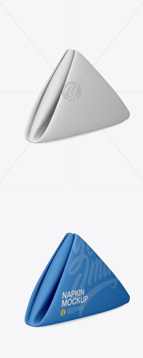 Napkin Mockup - Half Side View (High-Angle Shot) 30902 TIF