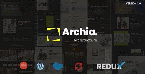 ThemeForest - Archia v1.0.0 - Architecture & Interior WordPress Theme - 23841788