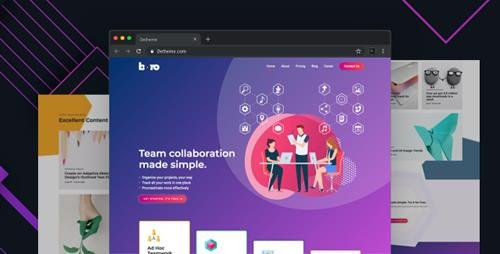 ThemeForest - Boro v1.0 - HTML templates for SaaS & Apps Startup Company - 23985551