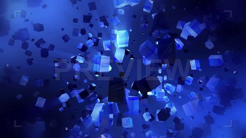 MA - Cubes Fly In Space 246711