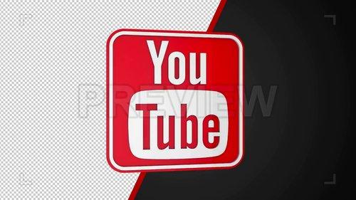 MA - Rotating Youtube Logo Loop 216739