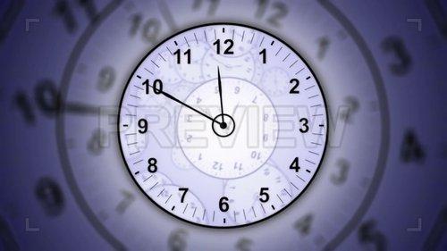 MA - 12-Hour Run Clocks Background 209341