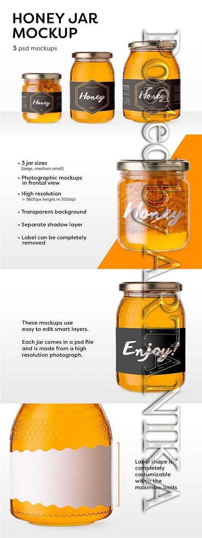 Honey Jar Mockups 3526912