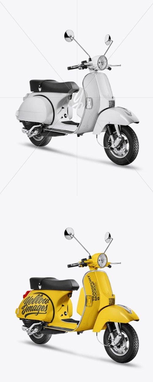 Scooter Mockup 44572 TIF
