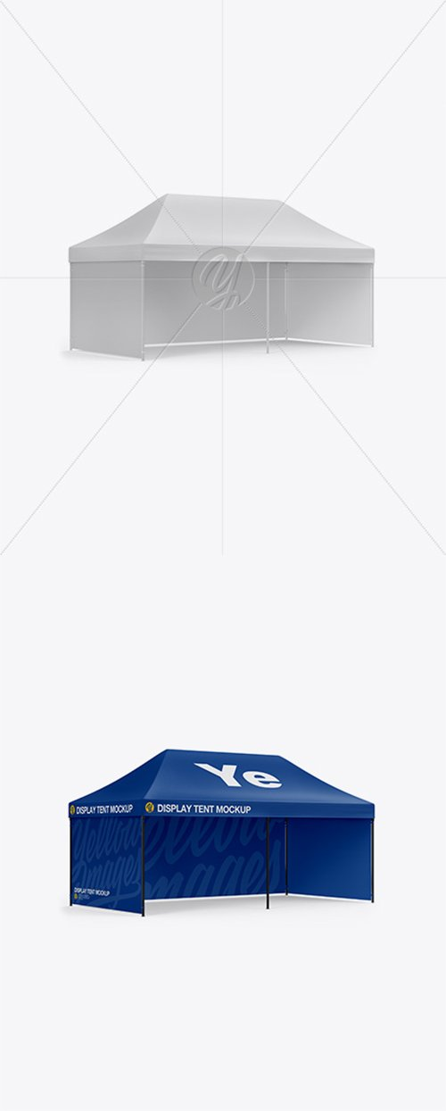 Display Tent Mockup 36229 TIF