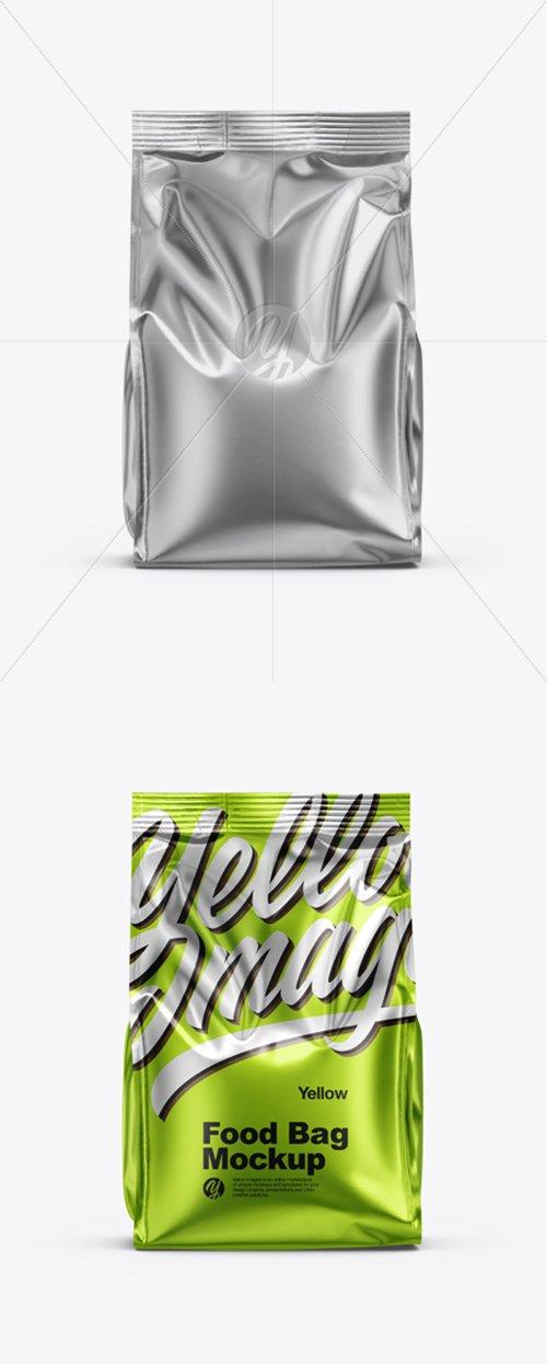 Metallic Food Bag Mockup 35325 TIF