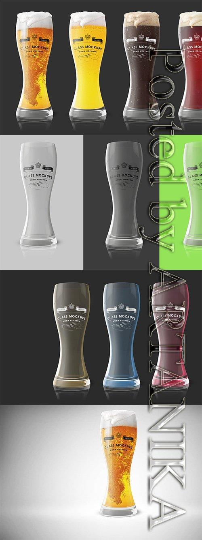 Glass Mockup - Beer Glass Mockup 1 353466