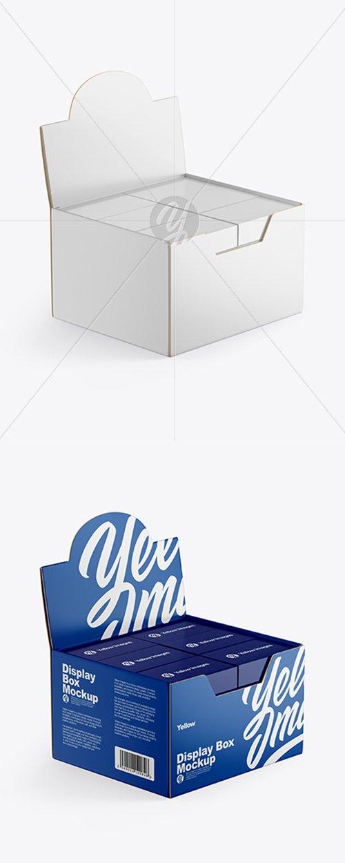 Display Box w/ Small Boxes Mockup 42546 TIF