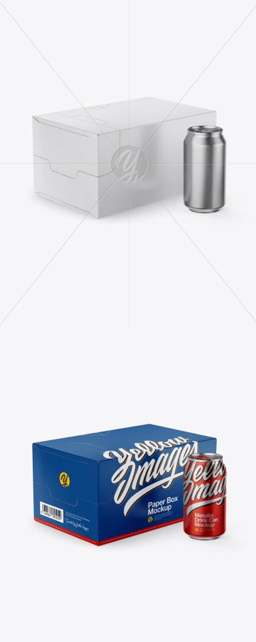 Box with Can Mockup 43120 TIF