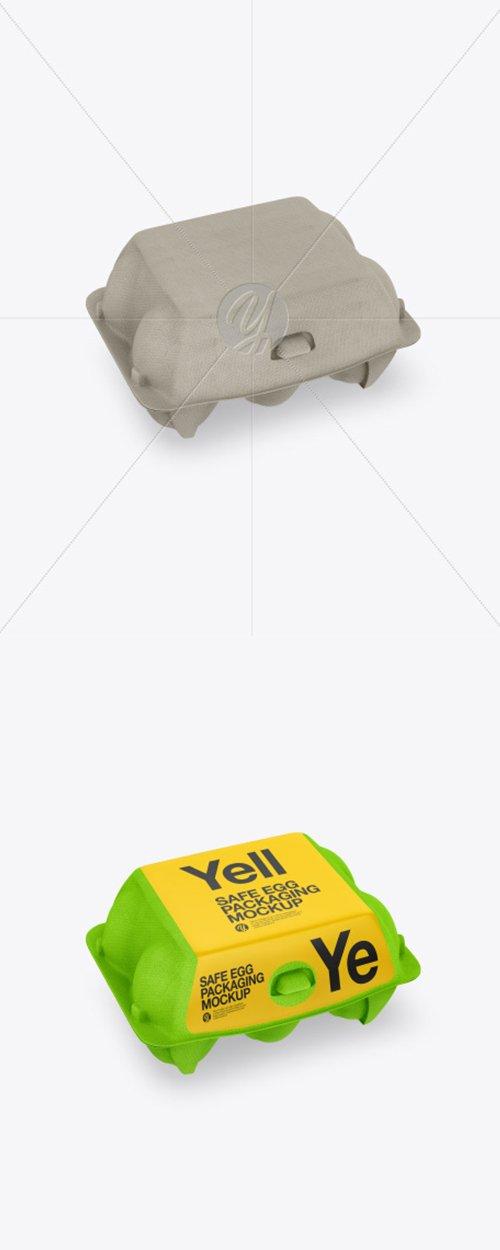 6 Egg Carton Pack Mockup 42729 TIF