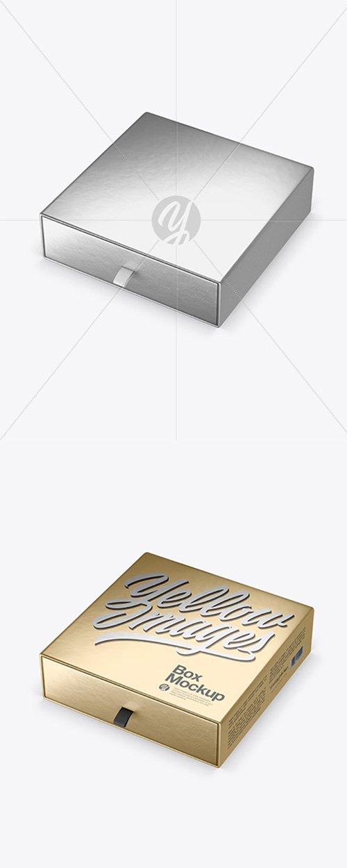Metallic Paper Box Mockup 42680 TIF