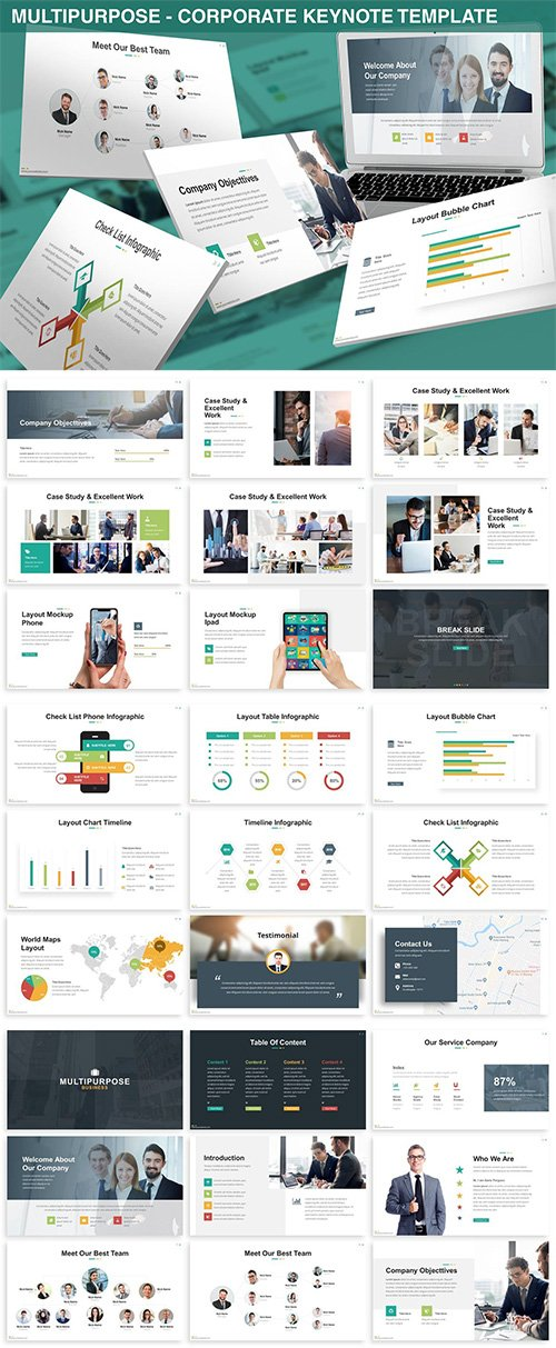 Multipurpose - Corporate Keynote Template