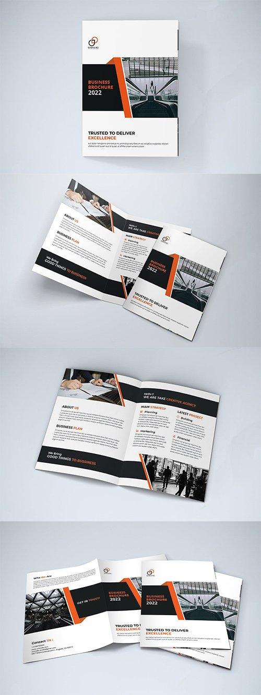 Bifold Indesign Brochure - AXCGBTY