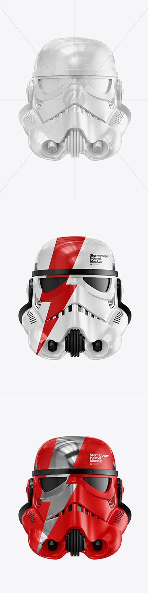 Glossy Stormtrooper Helmet Mockup 42332 TIF